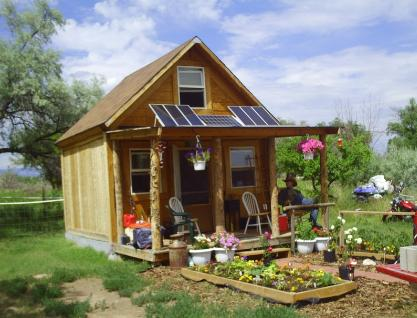 How to build a self sufficient cabin for under 4000 for Small off grid home plans