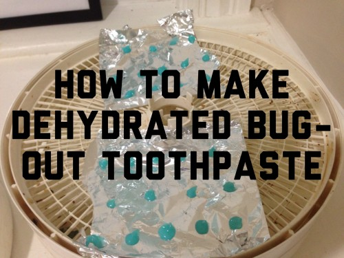 Bug-Out Toothpaste