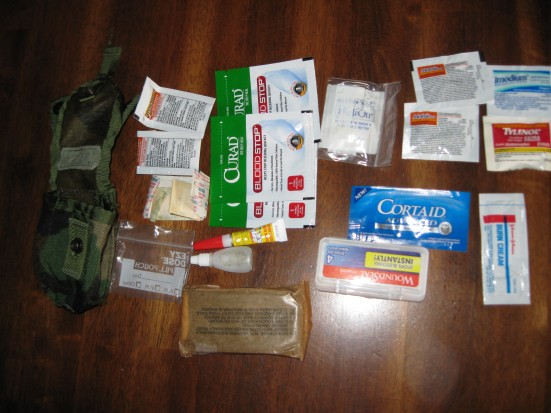 How to Build a Prepper First-Aid Pouch
